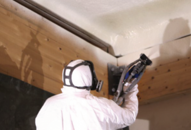 "New ""superinsulation ECO"" sprayed polyurethane foam system"