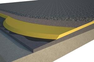 espesor óptimo del poliuretano cubierta plana grava