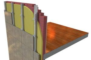 espesor óptimo del poliuretano fachada exterior ventilada