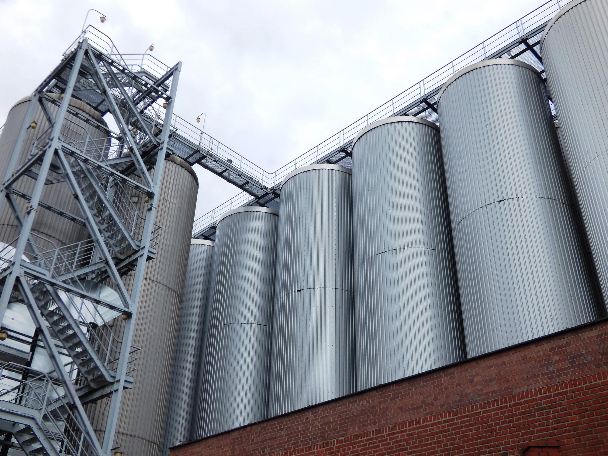 Aislamiento de silos poliuretano