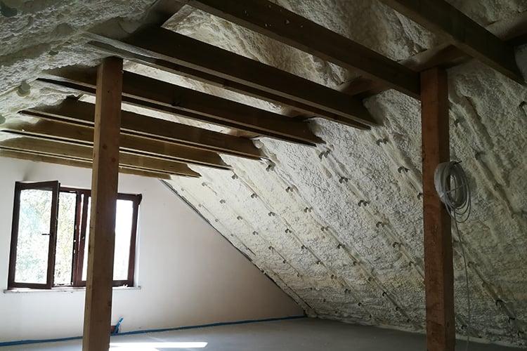 05 - Polyurethane roof, optimum insulation1