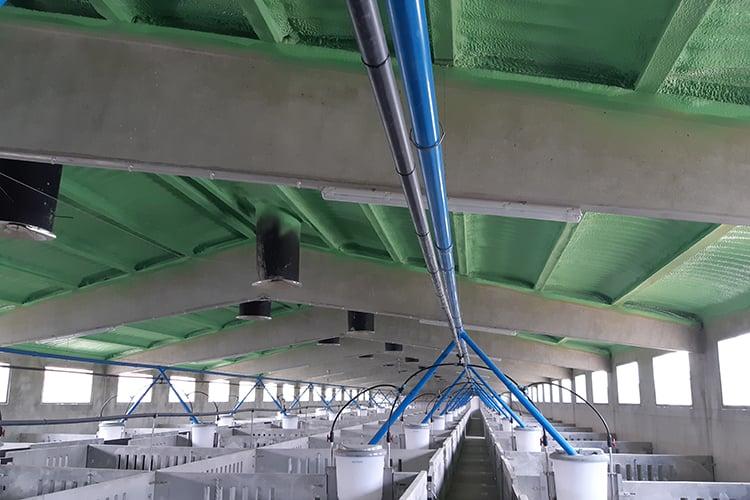 05 - Polyurethane roof, optimum insulation2