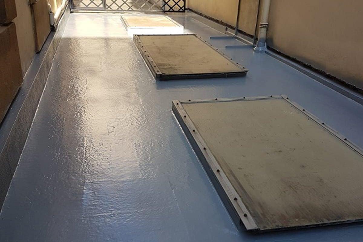 33 - Cómo impermeabilizar una terraza plana transitable con poliuretano 02