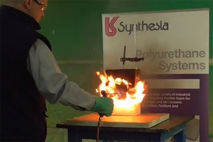 Fire safety of polyurethane systems