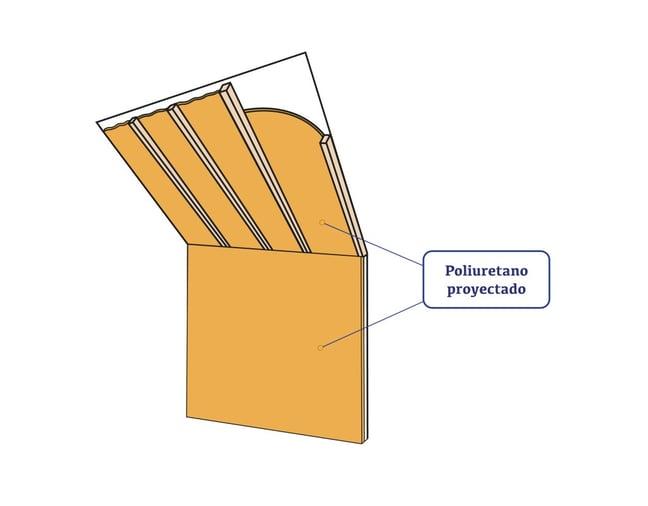 Solucion constructiva lana vs poliuretano proyectado