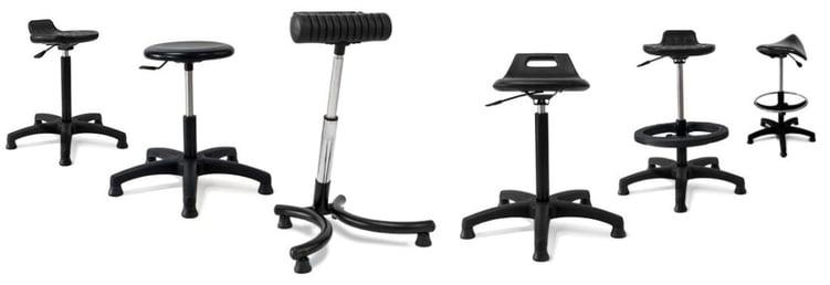 chaise bureau polyuréthane
