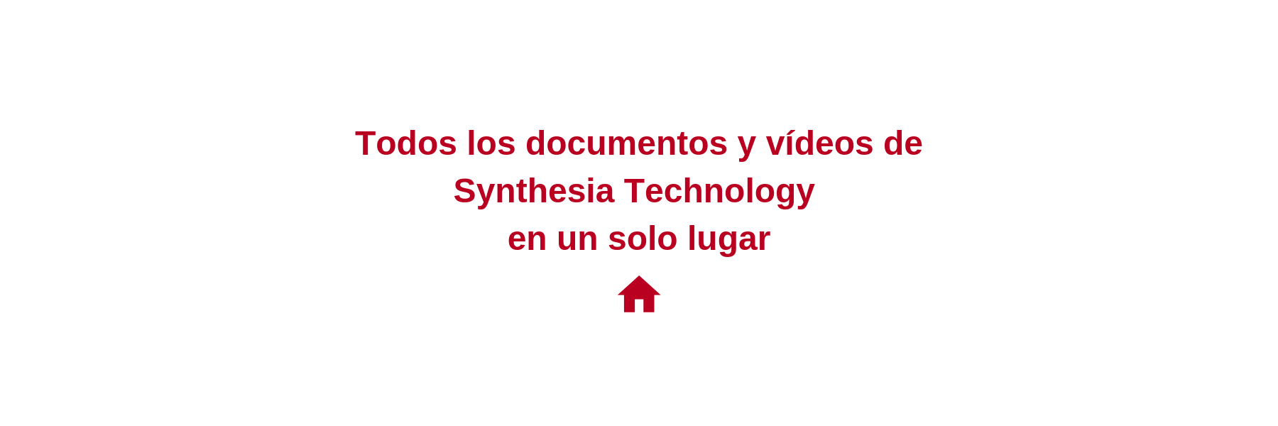 Todos los documentos y vídeos de Synthesia Technology en un solo lugar (3)