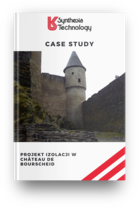 Projekt izolacji w Château de Bourscheid