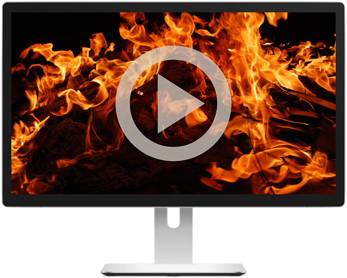 Test polyurethane's resistance to fire