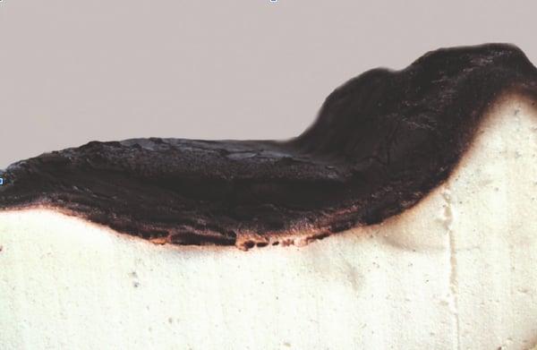 poliuretano carbonizado