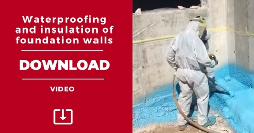 VIDEO: Waterproofing and insulation of slurry walls