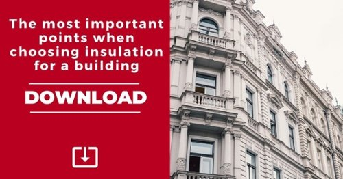 DOWNLOAD. The most important points when choosing insulation for a building