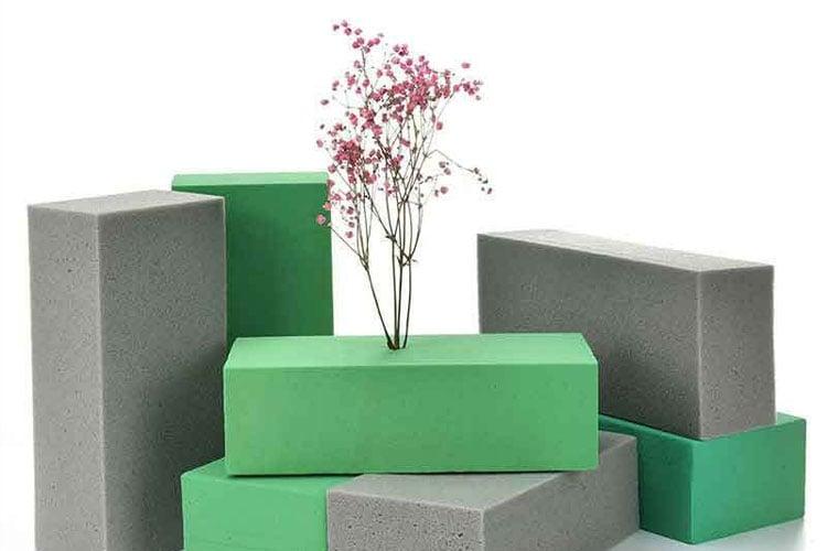 Sztywna pianka poliuretanowa do kompozycji kwiatowych